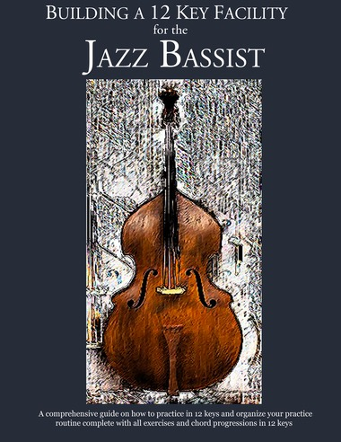 Jazz bass book - constructing walking jazz bass lines
