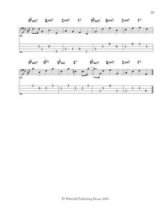 jazz bass lines in 12 keys method book ii bass tab ebay. Black Bedroom Furniture Sets. Home Design Ideas