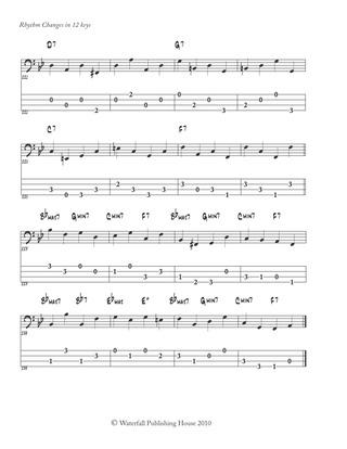 Constructing Walking Jazz Bass Lines Book II : Walking Bass Lines