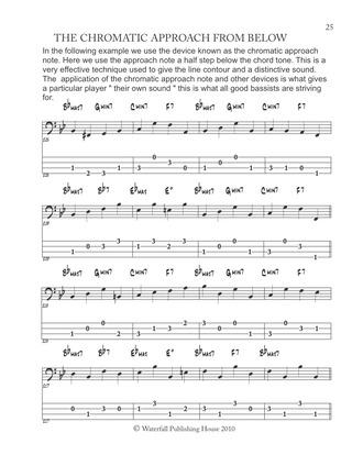Constructing Walking Jazz Bass Lines Book II : Walking Bass Lines ...